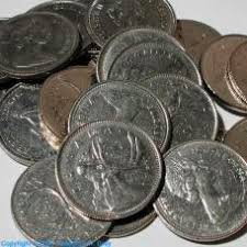 Nickel coins