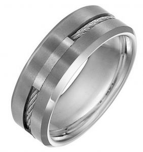 tungsten carbide band