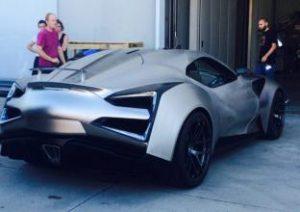 Titanium alloy car