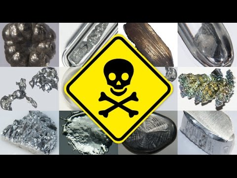 How does cadmium harm the human body?