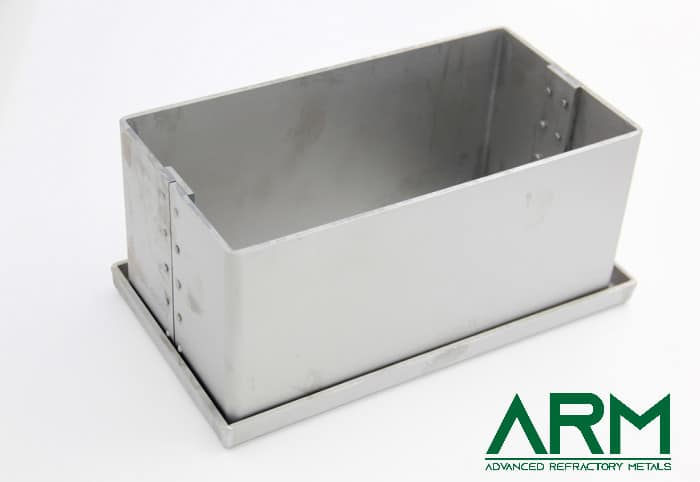 Molybdenum-Tray