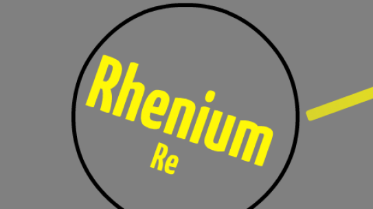 Why is There No Gasoline Without Rhenium?