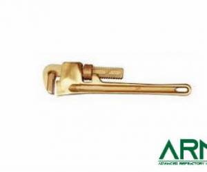 Beryllium Copper Spark Proof Heavy-Duty Pipe Wrench